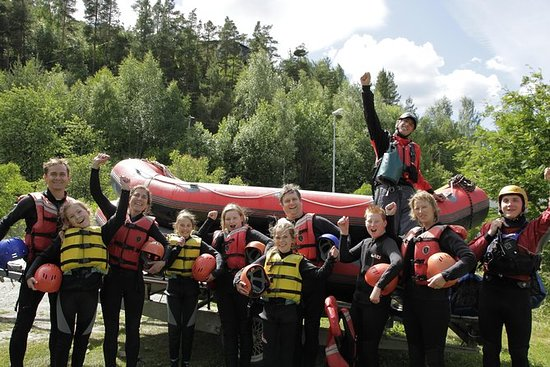Family Rafting Experience on River...
