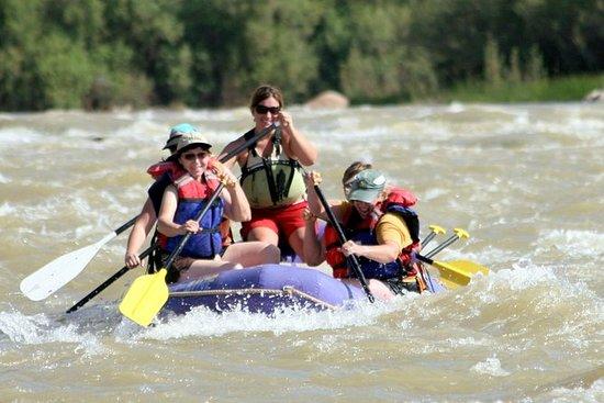 Raab di mezza giornata Rafting