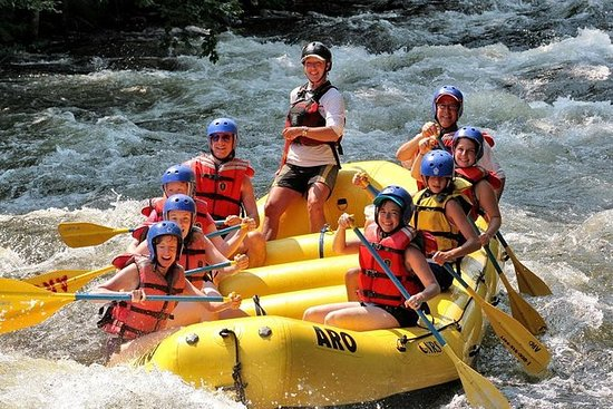 White-Water Rafting Trip on the...
