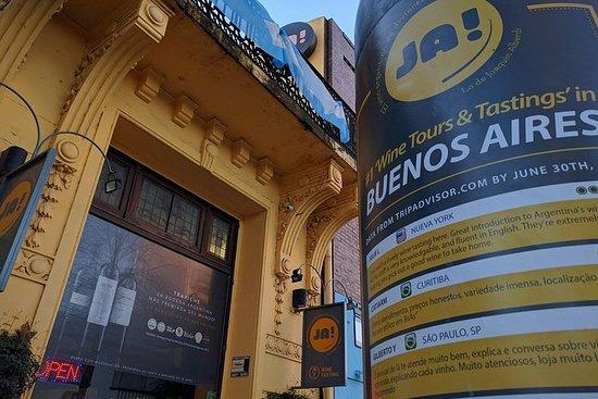 Qualitätsweinprobe in Buenos Aires