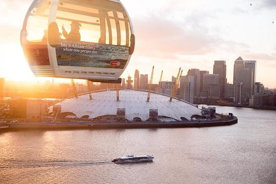 Emirates Airline Cable Car og Thames...