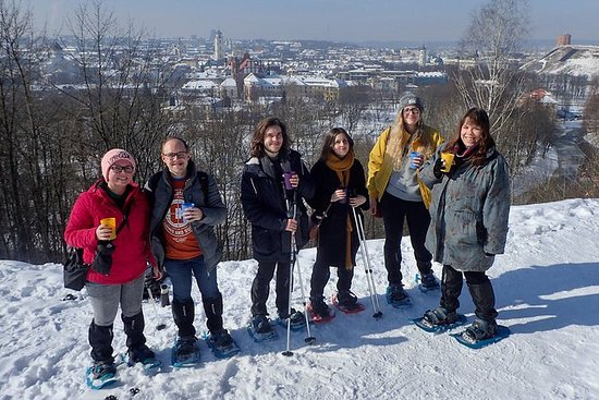 Vilnius Panoramic Snowshoe Walking...