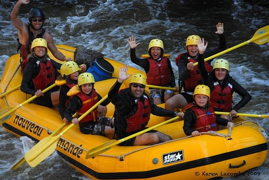 Rouge River Familienrafting
