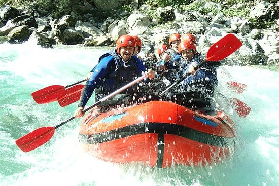 Half day whitewater rafting on the...