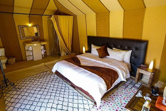 Luxury Camp in Merzouga Desert with...