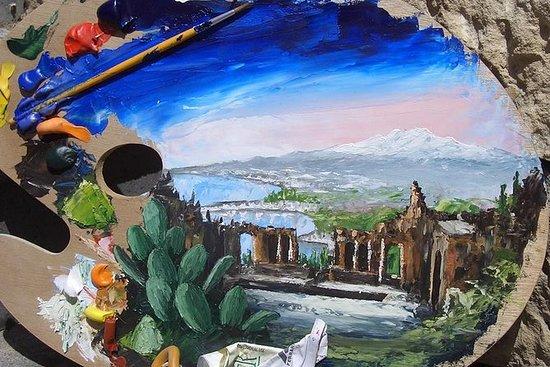 Maling og Vin i Taormina med Villa...