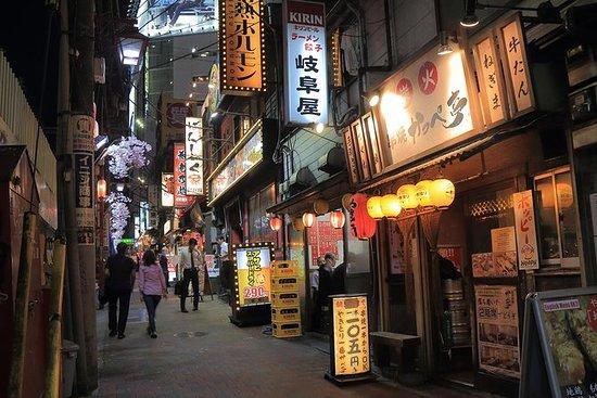 夜の街東京発見ツアー、地元ガイド付き