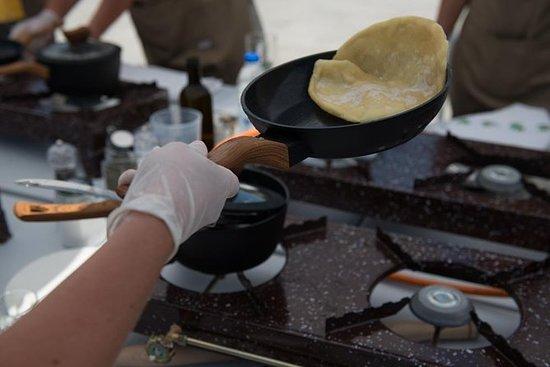 克里特岛烹饪和品酒