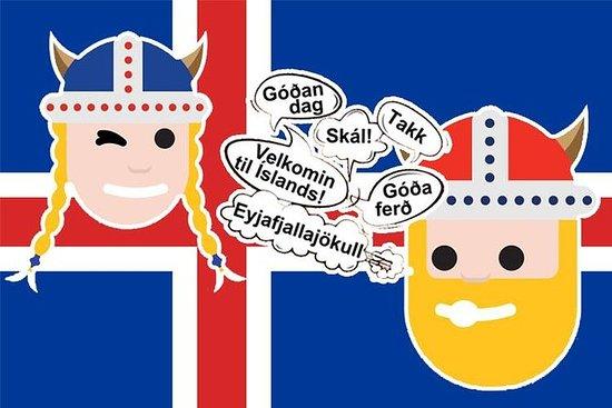 Classe de idioma islandês: quebrando...