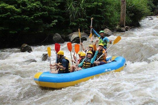 Rafting no rio Ayung