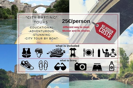 Mostar city rafting