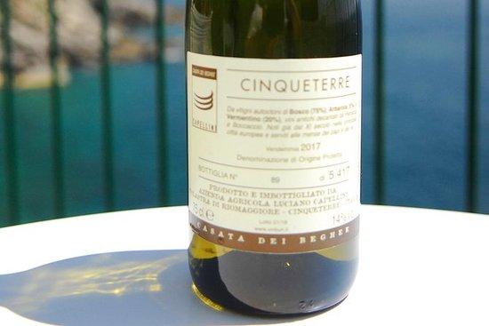 Cinque Terre wijnproeverij