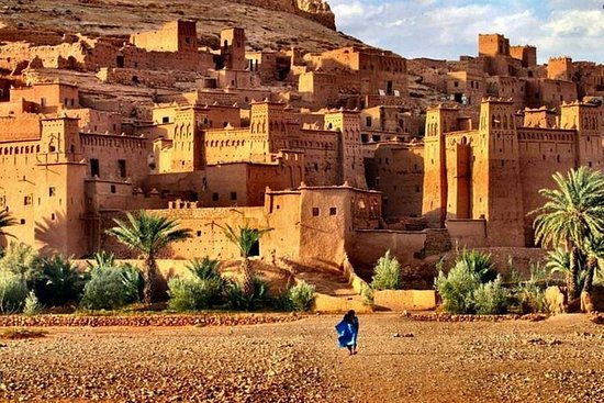 Tour of World Heritage Kasbah Ait Ben Haddou from Marrakech: Tour of Ouarzazate and Ait Ben Haddou with Road of the Kasbahs