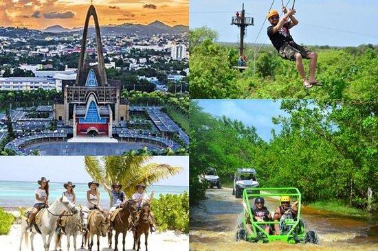 4 activiteiten! Safari - Zip Line ...