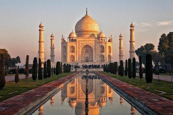 Taj Mahal Sonnenaufgang Tour