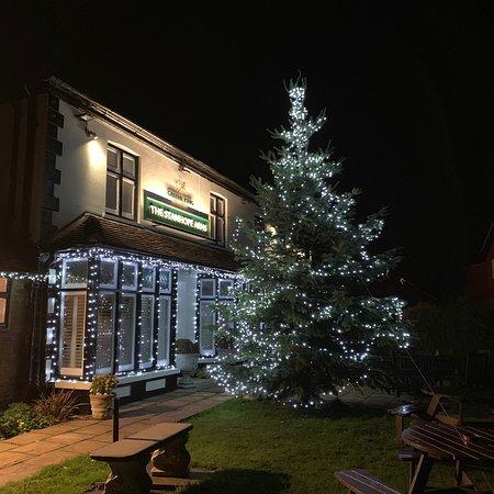 Brasted, UK: The 2018 Christmas Tree