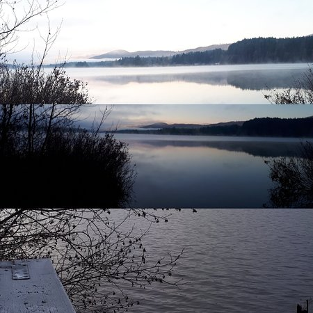 Shawnigan Lake, Kanada: Winter on the lake