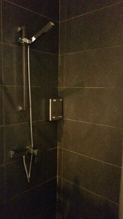 Shower room in lounge