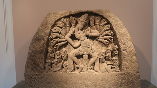 One of the many sculptures of Siva who was worshipped in Vietnam for centuries