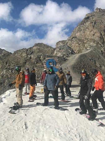 Vivid Snowboarding: Autumn Instructor training group
