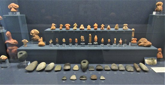 Items from the Neolithic period between 6500 and 5300 BC.