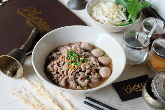 Bharani Restaurant: Thai - French Beef Traditional Thai Boat Noodle