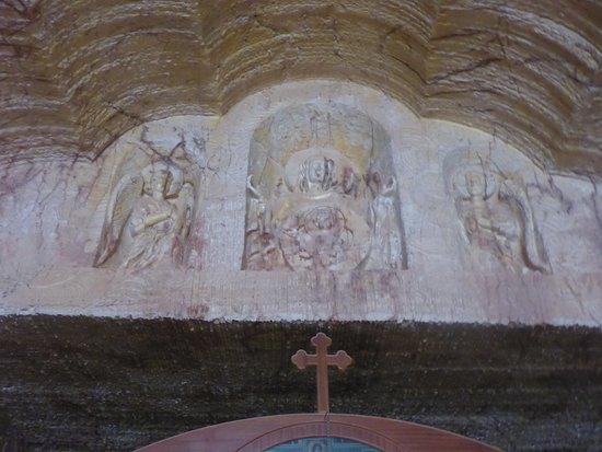 Ornate Carved Head Piece