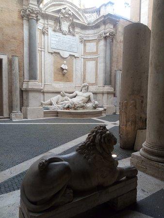Musei Capitolini: interni
