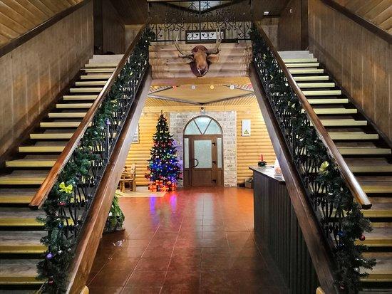 Киржач, Россия: Гостиница для семейного отдыха, оформленная  в экостиле. Дубровка - это место, где вкусно, тепло и  уютно.
