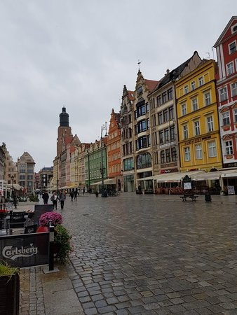 Исторический центр Вроцлава: Stunning architecture