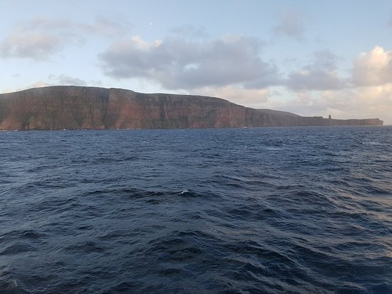 Old Man of Hoy viewed from Northlink Ferry