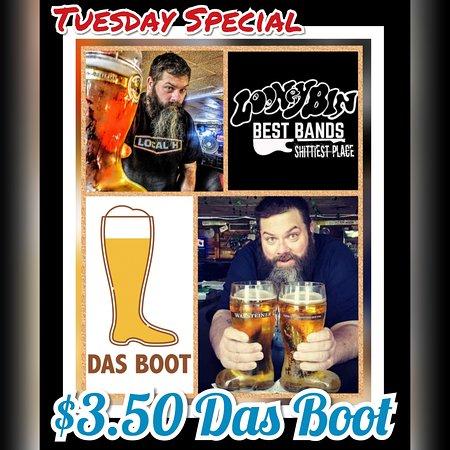 Bradley, IL: Tuesday specials