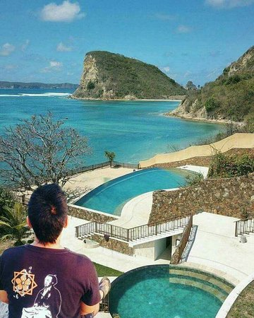 Mataram, Indonesia: Lombok never and, In Light hote located on South Beach of Lombok in Gerupuk beach side
