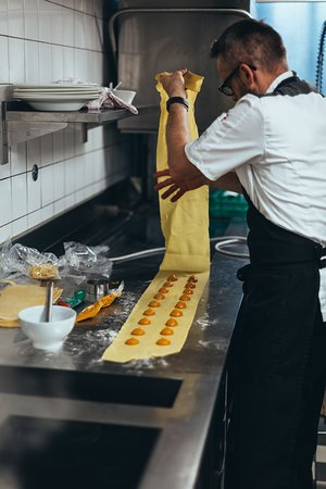 Restaurant Barz: Unsere Spezialität: Selbstgemachte Pasta