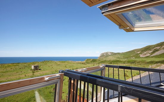Balcony - Picture of Nature's Point by Together Travel, Pistyll - Tripadvisor