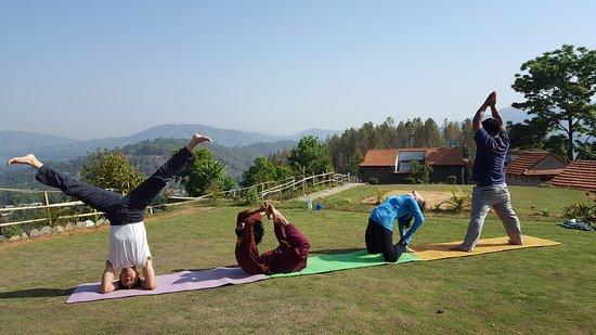 Y-O-G-A Yoga Retreat Trek