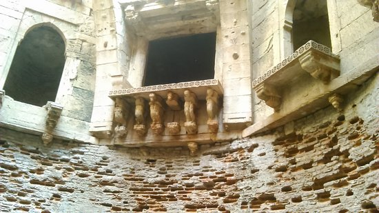 Bhamaria Vav: Another view of the fine layout.