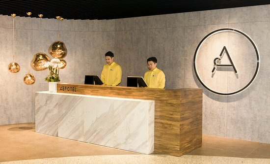 Aerotel Guangzhou: Reception --- 前台
