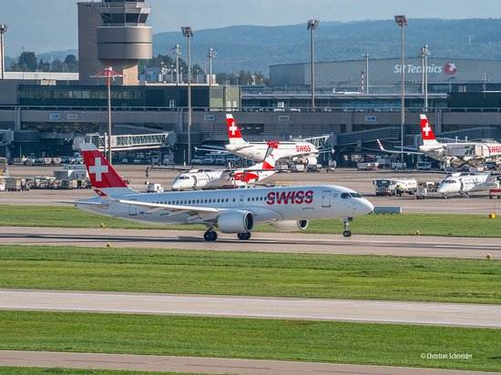 Swiss at ZRH