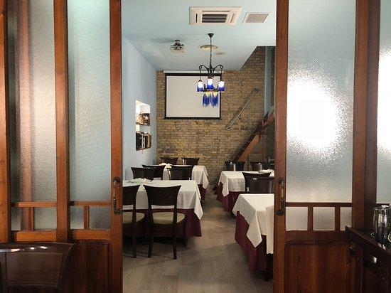 Reservado del restaurante El Barrio de San Roque
