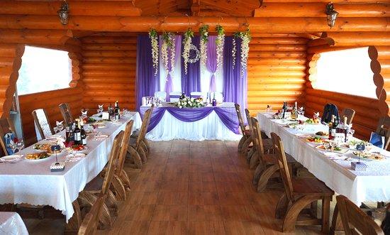 Киржач, Россия: Свадебное торжество в шатре Агрокомплекса Дубровка.  http://www.hotel-dubrovka.ru