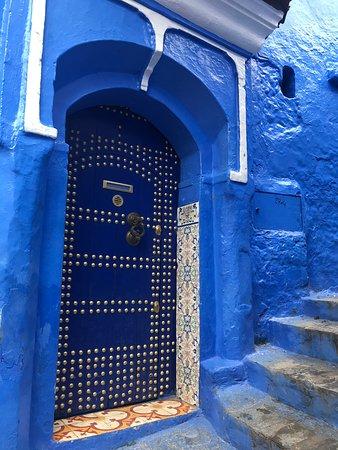 The 'Blue City' - beautiful doors