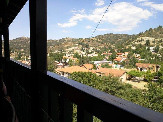 הנוף ממרפסת המסעדה