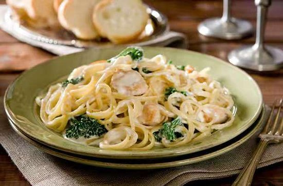 Alfredo spaghetti