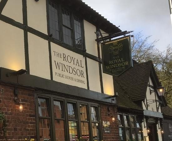 The Royal Windsor Pub: The Royal Windsor is the oldest licenced venue in Windsor