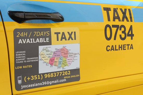 Кальета, Португалия: Our Taxi
