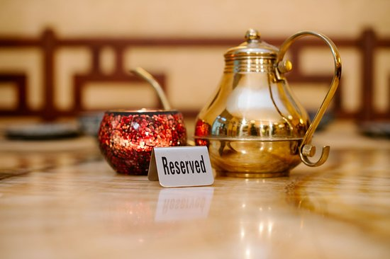 Pekin: You are welcome to call us to book a table