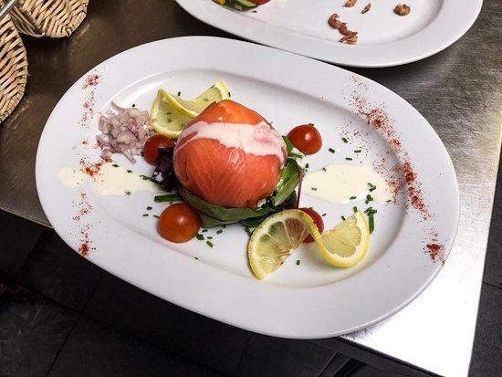 Ballotine de saumon