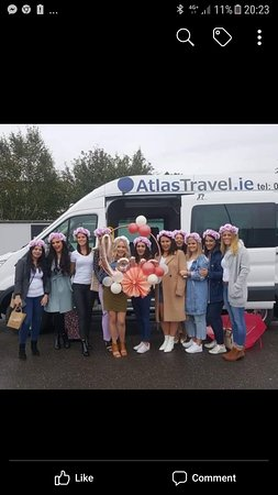 hen party heading to Galway