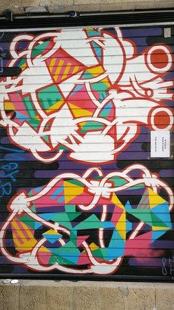 Passeio a pé pela Art Street Madrid: Visite Street Art